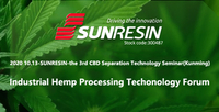 2020 CBD Processing Technology Forum Is on The Way